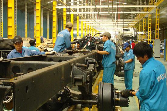 Công nhân nhà máy